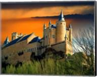 Alcazar castle at sunset, Segovia, Spain Fine-Art Print