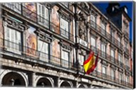 Spain, Madrid, Plaza Mayor, Building Detail Fine-Art Print
