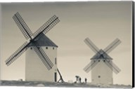 La Mancha Windmills, Campo de Criptana, Castile-La Mancha Region, Spain Fine-Art Print