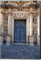 Spain, Andalusia, Cadiz, Arcos De la Fontera Saint Peter's Church Fine-Art Print