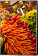 Carrots, Central Market, Malaga, Spain Fine-Art Print