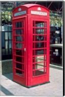 Red Telephone Booth, London, England Fine-Art Print