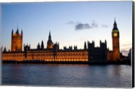 Big Ben, Houses of Parliament, London, England Fine-Art Print