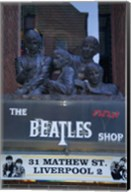 The Beatles Shop, Mathew Street, Liverpool, England Fine-Art Print