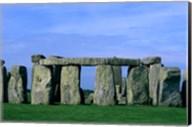 Abstract of Stones at Stonehenge, England Fine-Art Print