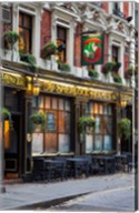 The Sherlock Holmes Pub, Trafalgar, London, England Fine-Art Print