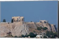 Greece, Athens View of the Acropolis Fine-Art Print