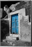 Colorful Blue Door, Oia, Santorini, Greece Fine-Art Print