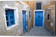 Very Old Building Built, Oia, Santorini, Greece Fine-Art Print