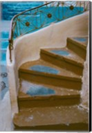 Curved Stairway in Athens, Greece Fine-Art Print