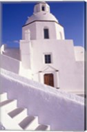 White Architecture, Santorini, Greece Fine-Art Print
