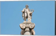 Greek Mythology, Apollo Statue at Athens Academy, Greece Fine-Art Print