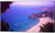 Beach at Tsambika from the Monastery, Rhodes, Dodecanese Islands, Greece Fine-Art Print