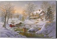 Over The Bridge To Grandmas House Fine-Art Print