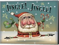 Santa On The Run Fine-Art Print