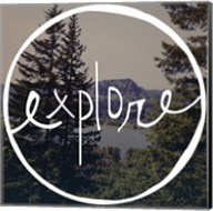 Explore Oregon Fine-Art Print