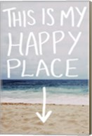 This Is My Happy Place (Beach) Fine-Art Print