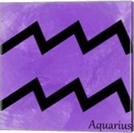 Aquarius - Violet Fine-Art Print