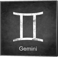 Gemini - Black Fine-Art Print