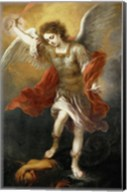 Archangel Michael Hurls the Devil into the Abyss, c. 1665-1668 Fine-Art Print