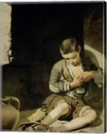 The Young Beggar Fine-Art Print