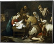 The Adoration of the Shepherds, 1655-1660 Fine-Art Print
