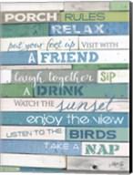 Porch Rules Fine-Art Print