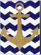 Chevron Anchor Fine-Art Print