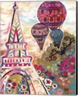 Ballons Sur Paris Fine-Art Print