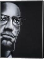 Portrait of Malcolm X Fine-Art Print