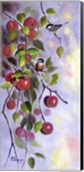 Apple and Chickadees Fine-Art Print