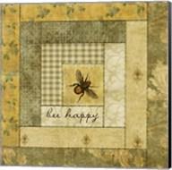 Bee Happy Quilt Fine-Art Print