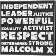Respect Malcolm X Fine-Art Print
