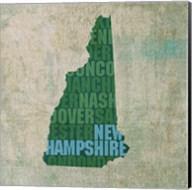 New Hampshire State Words Fine-Art Print