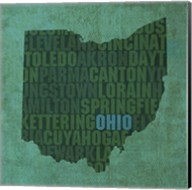 Ohio State Words Fine-Art Print
