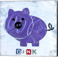Oink The Pig Fine-Art Print