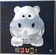 Grunt The Hippo Fine-Art Print