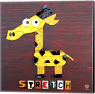 Stretch The Giraffe Fine-Art Print