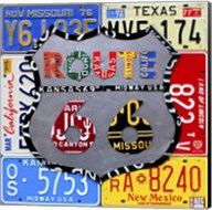 Route 66 Road Sign Fine-Art Print