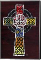License Plate Art Celtic Cross Fine-Art Print