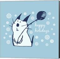 Christmas Party Cat Fine-Art Print