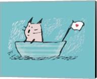Sweet Sailor Cat Fine-Art Print