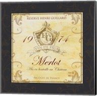 Wine Label VI Fine-Art Print
