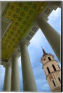Bell Tower of the Cathedral, Vilnius, Lithuania Fine-Art Print