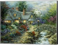 Country Cottage Fine-Art Print