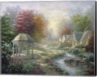 Gazebo Village Fine-Art Print