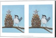 Chickadee Christmas II 2-Up Fine-Art Print