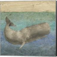 Diving Whale II Fine-Art Print