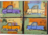 Trucks Fine-Art Print