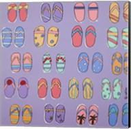 Flip Flops - Purple Fine-Art Print